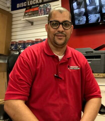 Photo of Hermes Rivera, the Manager at Sentry Self Storage in Miami, FL.