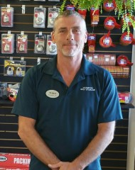 Photo of Todd Mathew, the Manager at Sentry Self Storage in Tampa, FL.